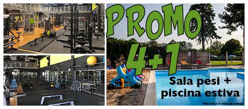 PROMO 4+1: valida per il mese di marzo!
